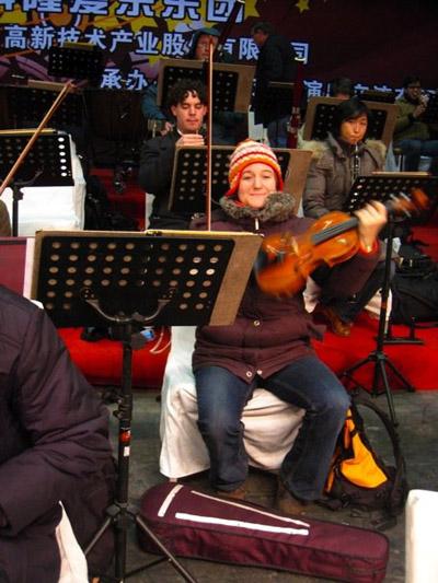 Konserttilavatunnelmaa Suzhoussa