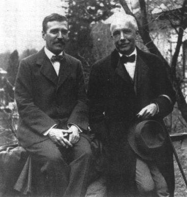 Richard Strauss ja Hugo von Hofmannsthal vuonna 1916.