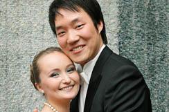 Yulia Lezhneva ja Kihwan Sim