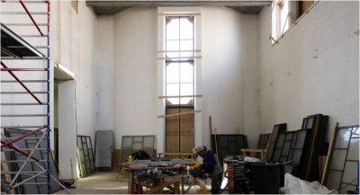 Taidehallin yli vuoden kestänyt remontti on valmistunut.