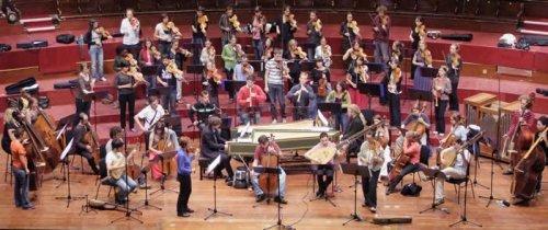 EUBO harjoittelee Edinburgissa elokuussa 2009