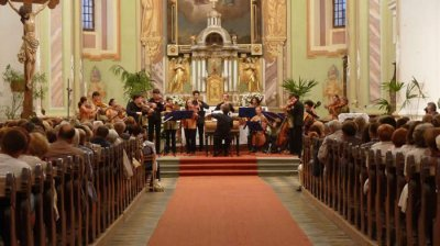 EUBO Gornji Gradin kirkossa