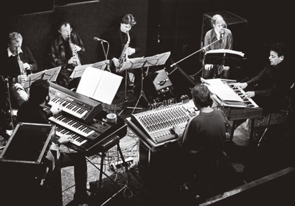 Philip Glass Ensemble 1970-luvulla.