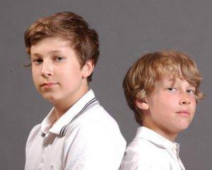 Jan-Paul ja Jonathan Roozeman. Kuva: Robert Roozeman.