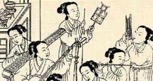 Kiinalaista musiikkia.