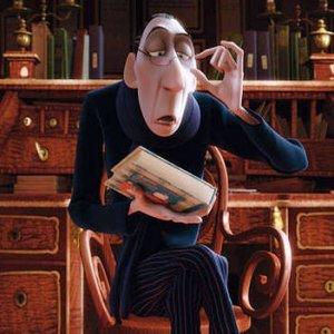 Kriitikko Anton Ego. Kuva: Pixar.
