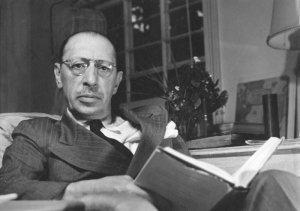 Igor Stravinski. Kuva: Boosey & Hawkes