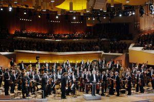 Berliinin filharmonikot. Kuva: Monika Rittershaus