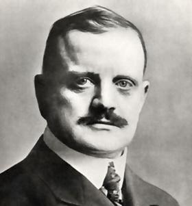 Jean Sibelius vuoden 1910 tienoilla.