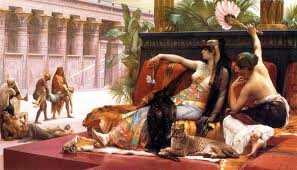 Cleopatra (maalaus: Alexandre Cabanel)