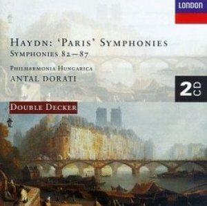 Haydnin sinfonioita nros 82-87 kutsutaan myös Pariisilaissinfonioiksi.