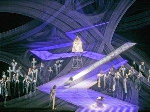 Parsifal oli visuaalisesti väkevä.