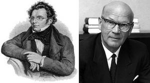 Franz Schubert, Urho Kekkonen