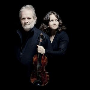 Peter Eötvös ja Patricia Kopatchinskaja (kuva: Marco Borggreve)