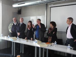 Väittelya Aixin yliopistossa, jury