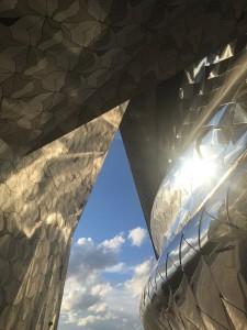Philharmonien arkkitehtuuria