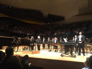 Couleurs de la Cité Céleste: Pierre-Laurent Aimard, Sir Simon Rattle ja Lontoon sinfoniaorkesteri