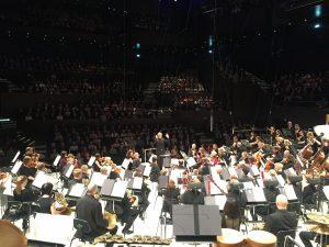 Radion sinfoniaorkesteri ja Hannu Lintu kantaesittivät Sebastian Fagerlundin Driftsin Musiikkitalossa tämän viikon konserttisarjassaan. Kuva © Jari Kallio
