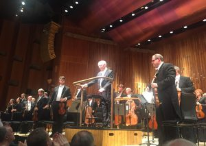 Bernard Haitinkin ja Lontoon sinfoniaorkesterin yhteistyön erityinen lämpö oli aistittavissa Barbicanissa sunnuntaina. Kuva © Jari Kallio.