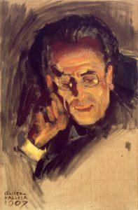 Akseli Gallen-Kallela: Gustav Mahler.