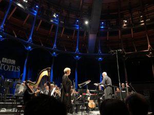 Mezzosopraano Susan Bickley, London Sinfonietta ja Sir George Benjamin. Kuva © Jari Kallio.