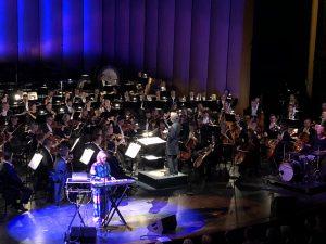 Olin kerran täällä, kantaesitys. Paula Vesala, Salonen ja Kansallisoopperan orkesteri