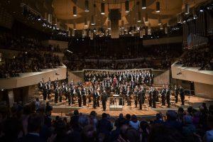 Beethovenin yhdeksäs sinfonia Philharmoniessa perjantaina. Kuva: Stephan Rabold