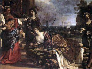 Le Guerchin, 1631. Didon kuolema.