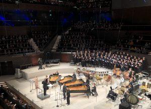 Stravinskyn Les Noces Musiikkitalossa keskiviikkona. Kuva: Jari Kallio