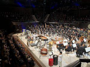 Kraftin päätös perjantain konsertissa. Kuva: Jari Kallio