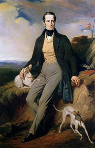 Alphonse Marie Louis de Lamartine, Henri Decaisnen maalaus. © Wikipedia.