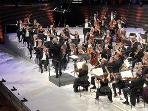 RSO, Hannu Lintu ja Beethovenin sinfonian vimmainen finaali. Kuva: Jari Kallio