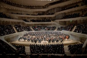Beethovenin yhdeksäs sinfonia Elbphilharmoniessa. Kuva: Sebastian Madej