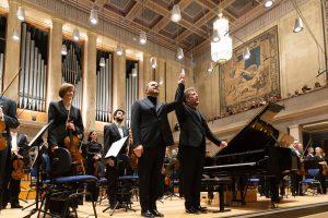 Thomas Adès ja Kirill Gerstein Herkulessaalissa. Kuva: BR / Astrid Ackermann