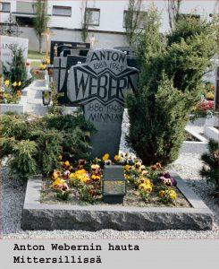 Anton Webernin hauta